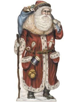 Father Christmas Too Dummy Boards - A Boardwalk Originals From Cottages and Gardens