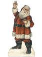 Hello Santa - A Boardwalk Originals Holiday Display From Cottages and Gardens