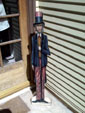 Uncle Sam - Boardwalk Originals Patriotic Fourth Of July Decoration & Display